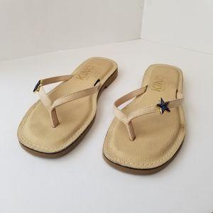 Kino Starfish Sandals Tan size 10